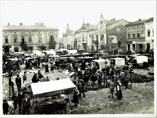 Brzesko Market Square, 1929.