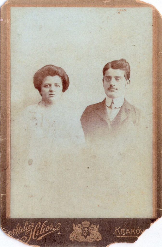Abraham Chaim Litwin and his wife, Ruchla Roselpacht