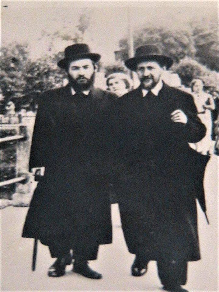 Jozef  Teichtal, son of Yutzhak, in Kraków (picture taken from Yad VaShem database)