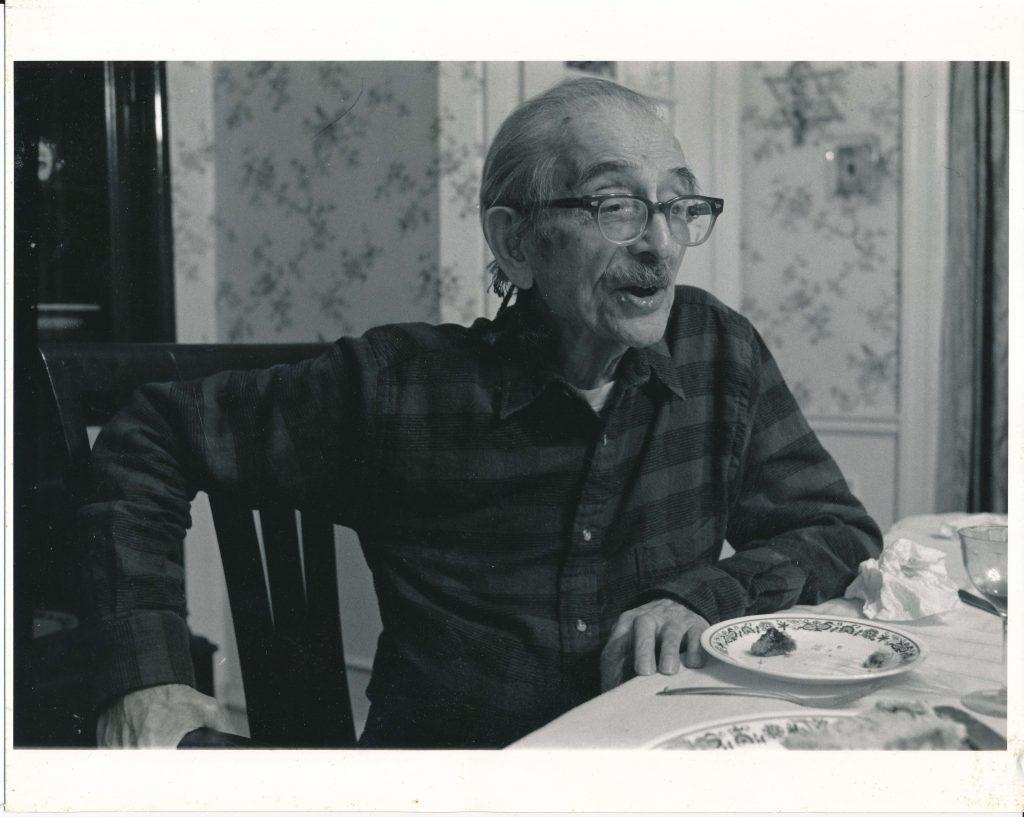 Schaje (Charles) Weiss 1987