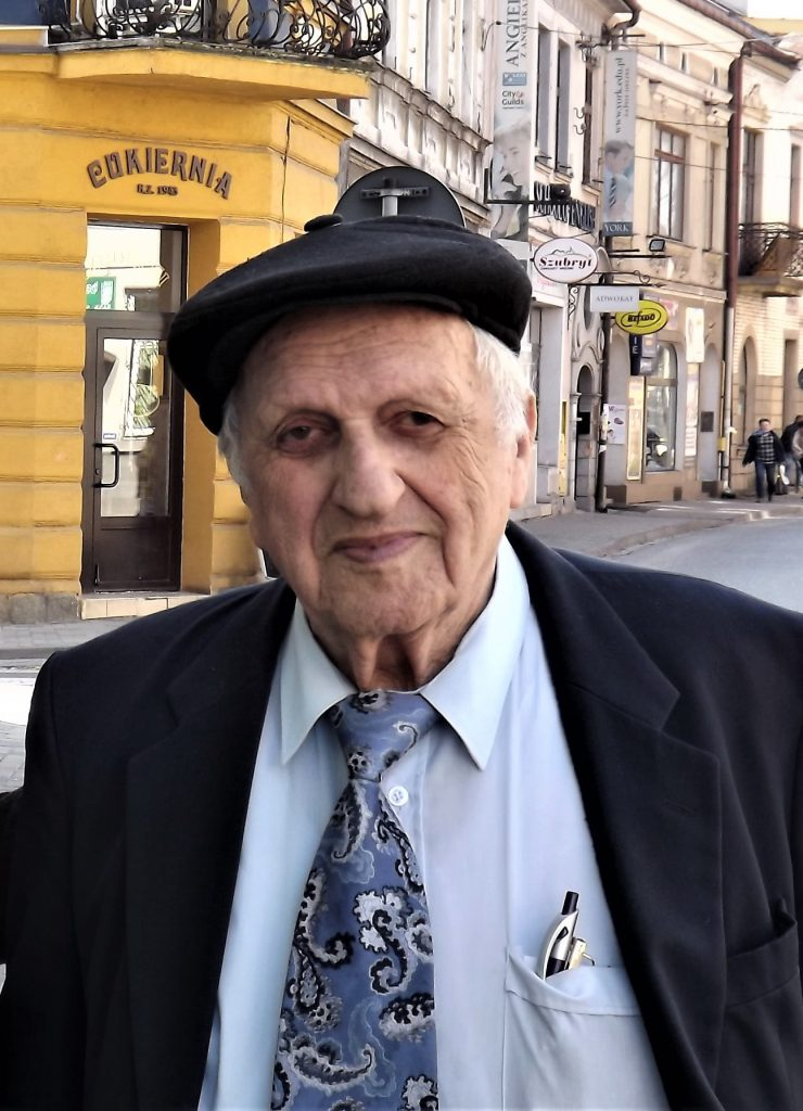 Dov Landau in Brzesko, April 2019