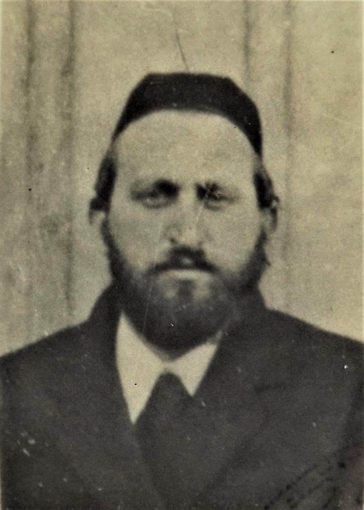 father of  Dov Landau, murdered in Auschwitz on April 21, 1944