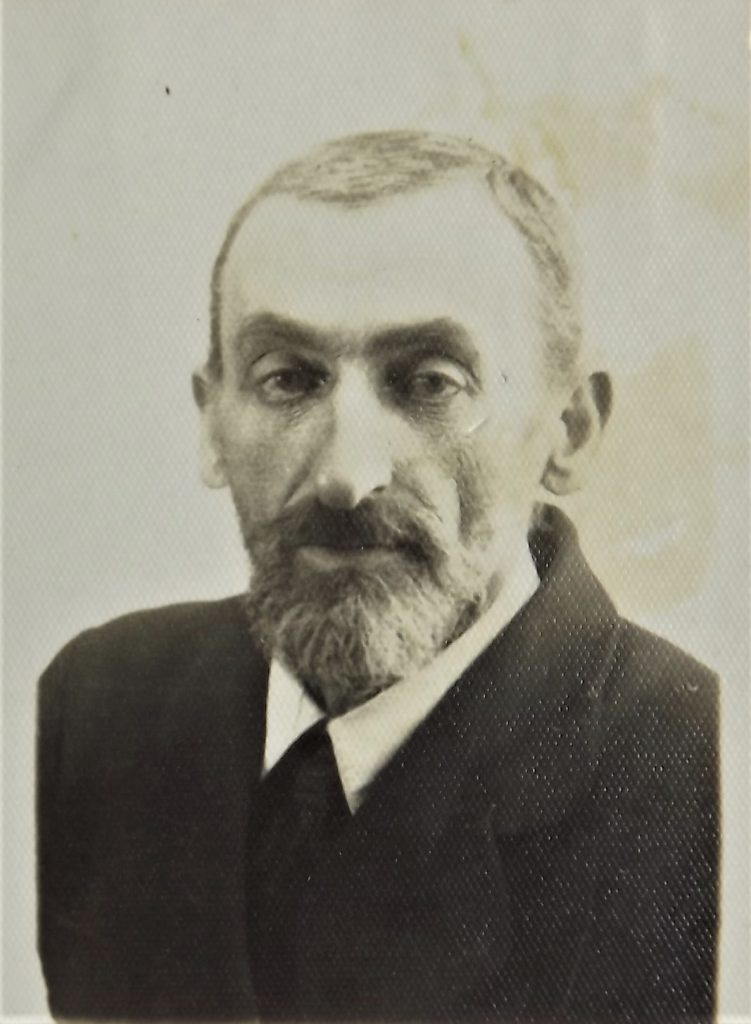 Lobl Landau, grandfather of Dov Landau, murdered in 1943