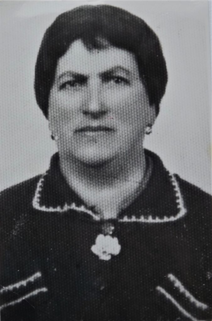 Bluma Regenbogen, grandmother of  Dov Landau, murdered in Auschwitz
